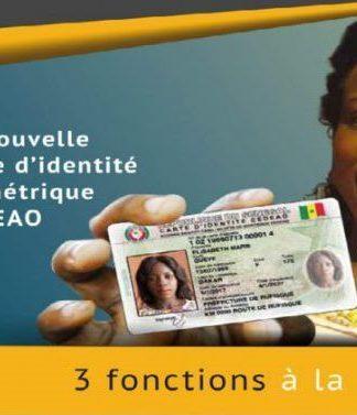 obtenir la carte d'identité biométrique CEDEAO