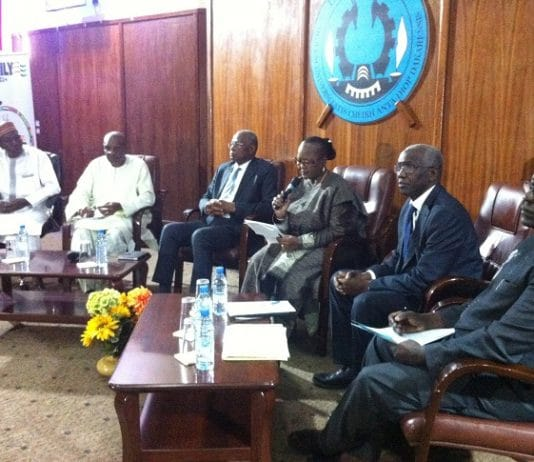 Abdoulaye Bathily candidat commission UA reçu par l'UCAD