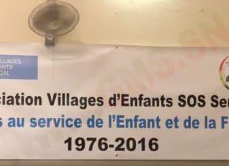 Association village d'enfant SOS Sénégal recrute un responsable