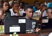 Examens Ethiopie internet bloqué